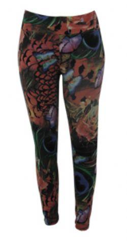 Calça legging Plus Size fem. est borboleta Ref.01083
